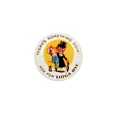 Tioga Rye Mini Button (100 pack)