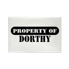Property of Dorthy Rectangle Magnet (10 pack)