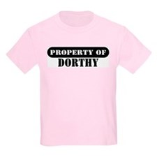 Property of Dorthy Kids T-Shirt