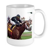 Friendly Island Horse Racing Mug