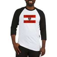 Austrian by Marriage Baseball Jersey