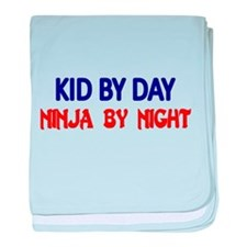 KID BY DAY baby blanket