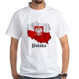 Poland flag map Shirt