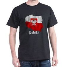 Poland flag map T-Shirt
