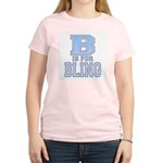 B is for Bling Women's Pink T-Shirt