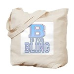 B is for Bling Tote Bag