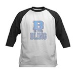 B is for Bling Kids Baseball Jersey