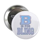B is for Bling Button