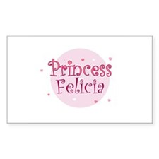 Felicia Rectangle Decal