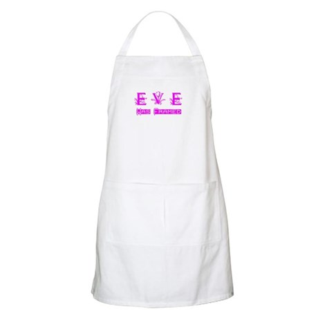Eve was Framed BBQ Apron