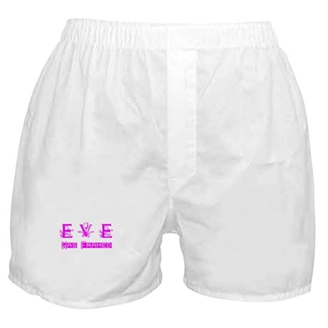 Eve was Framed Boxer Shorts
