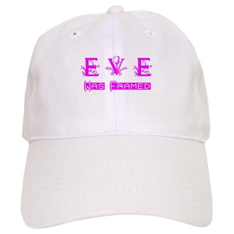 Eve was Framed Cap