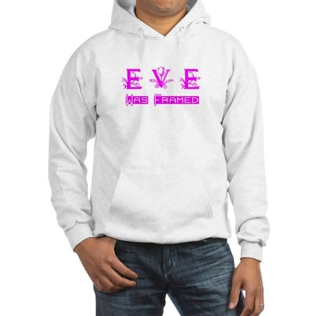 Eve was Framed Hooded Sweatshirt
