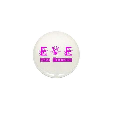 Eve was Framed Mini Button