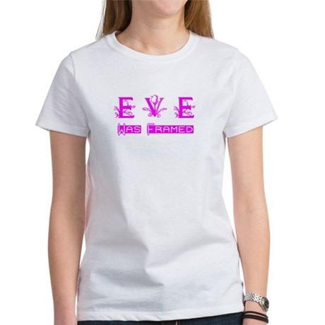 Eve was Framed Women's T-Shirt