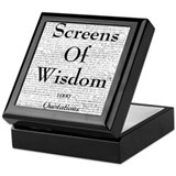 Screens Of Wisdom Keepsake Box