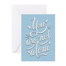 Not Alone Greeting Cards (Pk of 10)