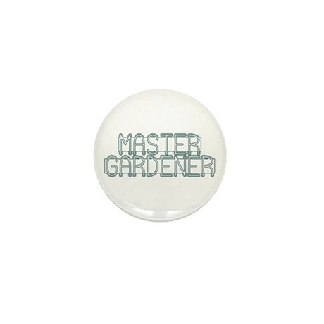 Master Gardener Mini Button