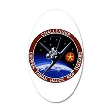 STS 7 Challenger Wall Decal