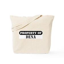 Property of Dena Tote Bag