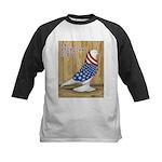 Patriotic West Kids Baseball Jersey