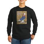 Patriotic West Long Sleeve Dark T-Shirt