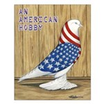 Patriotic West Small Poster