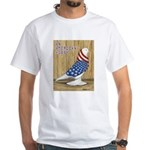 Patriotic West White T-Shirt