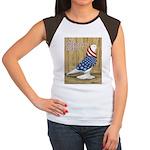 Patriotic West Women's Cap Sleeve T-Shirt