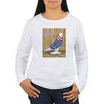 Patriotic West Women's Long Sleeve T-Shirt