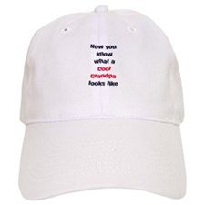 Cool Grandpa Baseball Cap