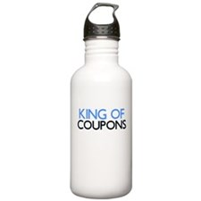 KING OF COUPONS Water Bottle