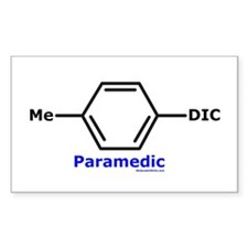 Molecularshirts.com Paramedic Decal