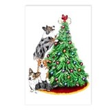 Corgi Christmas Postcards (Package of 8)