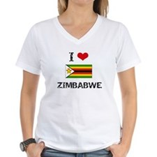 I HEART ZIMBABWE FLAG T-Shirt