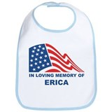 Loving Memory of Erica Bib