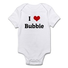 I Love Bubbie Infant Bodysuit
