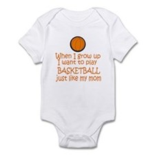 Basketball...just like MOM Onesie