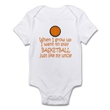 Basketball...just like Uncle Infant Bodysuit