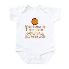 Basketball...just like Uncle Infant Bodysuit