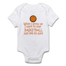 Basketball...just like AUNT Infant Bodysuit