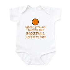 Basketball...just like AUNT Infant Bodysuit