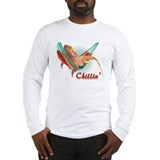 Bearded Dragon Chillin Long Sleeve T-Shirt