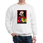 MERRY CHRISTMAS BOSTON TERRIER LOOK Sweatshirt