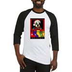 MERRY CHRISTMAS BOSTON TERRIER LOOK Baseball Jerse