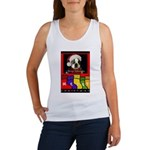 MERRY CHRISTMAS BOSTON TERRIER LOOK Women's Tank T