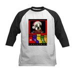 MERRY CHRISTMAS BOSTON TERRIER LOOK Kids Baseball