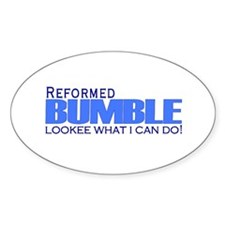 Reformed Bumble Oval Decal