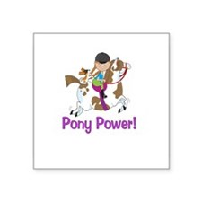 Pony Power! Sticker