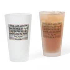 John 14:6 Drinking Glass